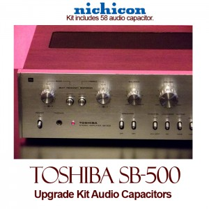 Toshiba SB-500 Upgrade Kit Audio Capacitors