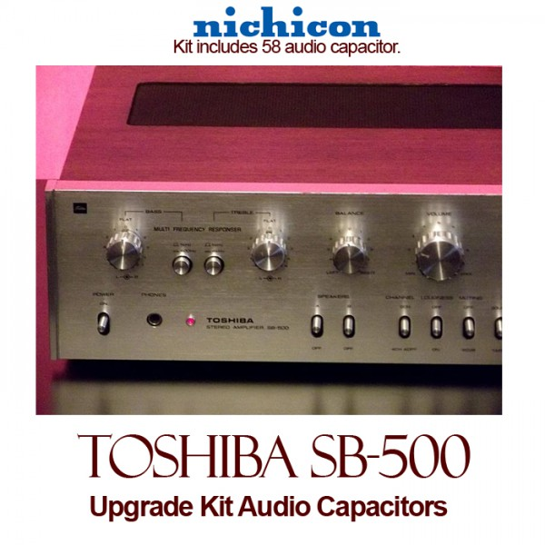 Toshiba SB-500 Upgrade Kit Audio Capacitors