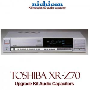Toshiba XR-Z70 Upgrade Kit Audio Capacitors