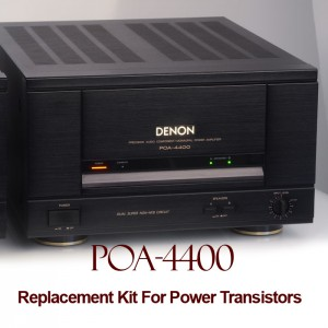 Denon POA 4400 Replacement Kit Transistors