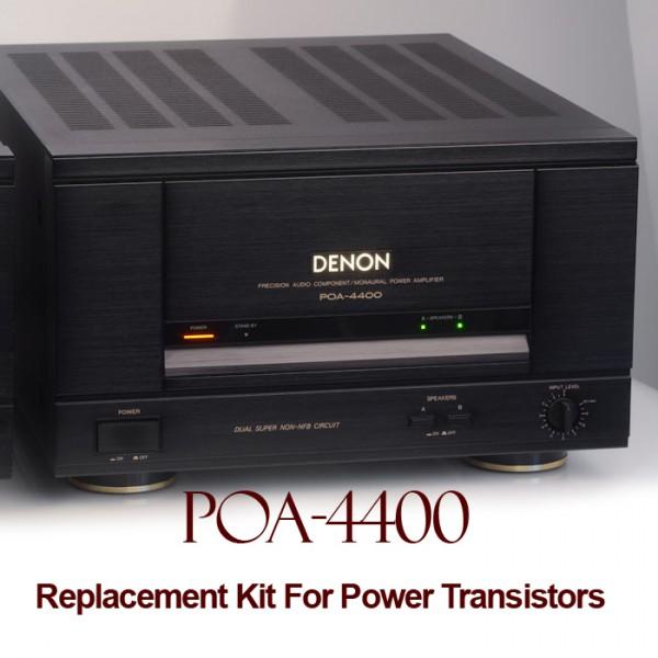 Denon POA 4400 Replacement Kit Transistors