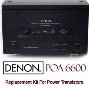 Denon POA 6600 Replacement Kit Transistors