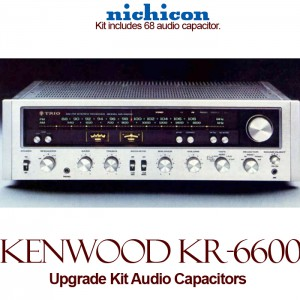 Kenwood KR-6600 Upgrade Kit Audio Capacitors