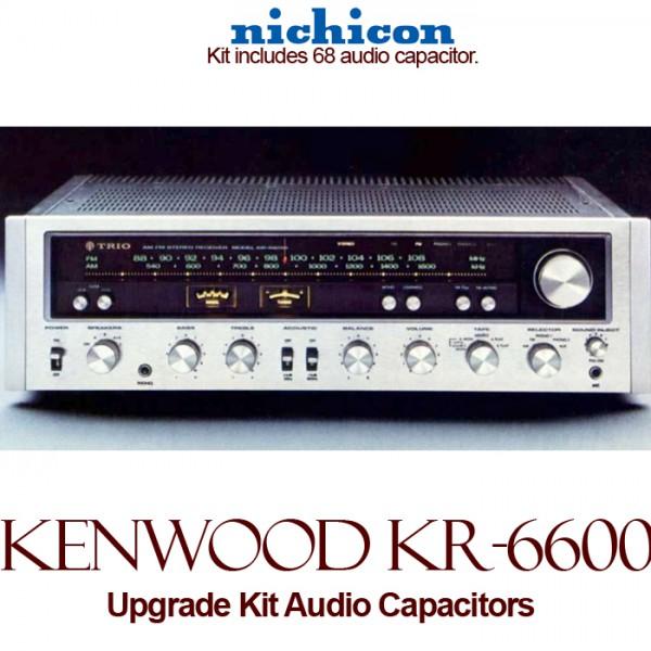 Kenwood KR-6600 Upgrade Kit Audio Capacitors