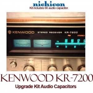 Kenwood KR-7200 Upgrade Kit Audio Capacitors