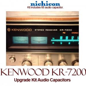 Kenwood KR-7200 Upgrade Kit Audio Capacitors
