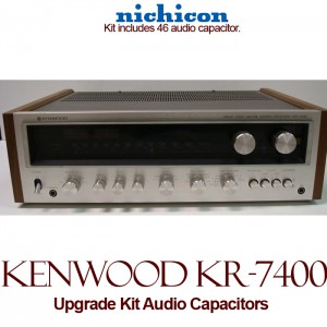 Kenwood KR-7400 Upgrade Kit Audio Capacitors
