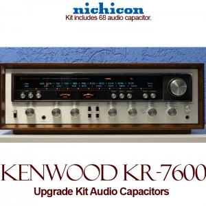 Kenwood KR-7600 Upgrade Kit Audio Capacitors
