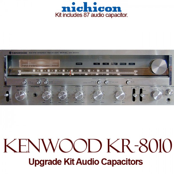 Kenwood KR-8010 Upgrade Kit Audio Capacitors