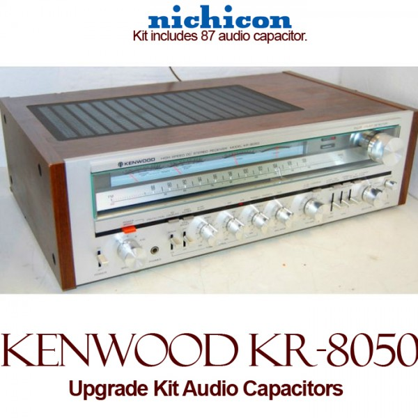 Kenwood KR-8050 Upgrade Kit Audio Capacitors
