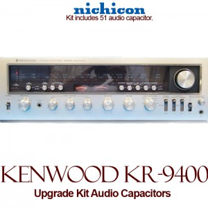 Kenwood KR-9400 Upgrade Kit Audio Capacitors