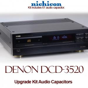 Denon DCD-3520 Upgrade Kit Audio Capacitors