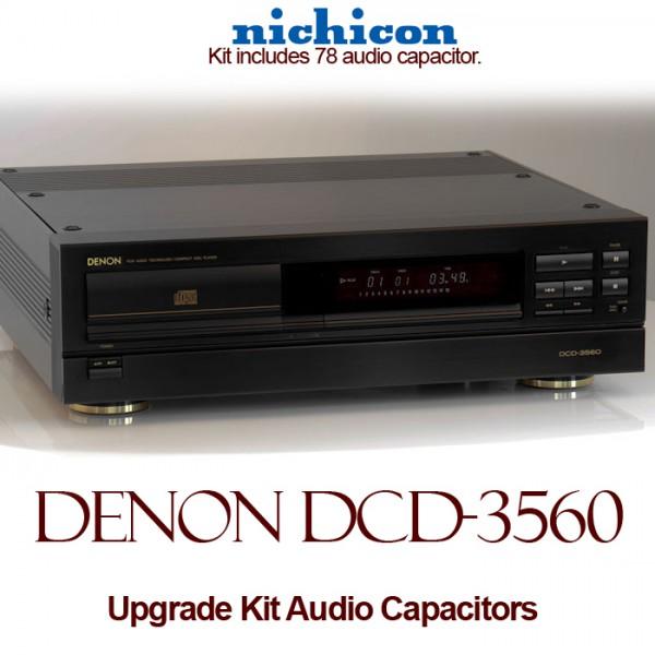 Denon DCD-3560 Upgrade Kit Audio Capacitors