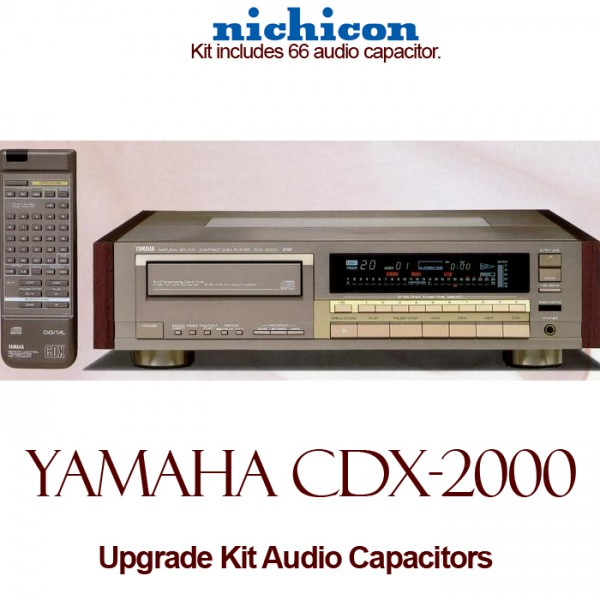 Yamaha CDX-2000 Upgrade Kit Audio Capacitors