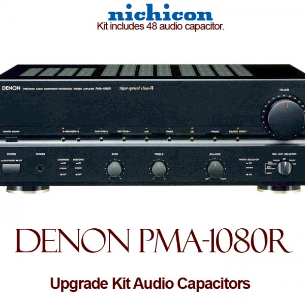 Denon PMA-1080R Upgrade Kit Audio Capacitors
