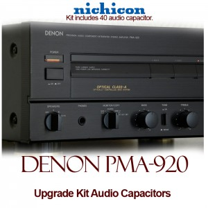 Denon PMA-920 Upgrade Kit Audio Capacitors