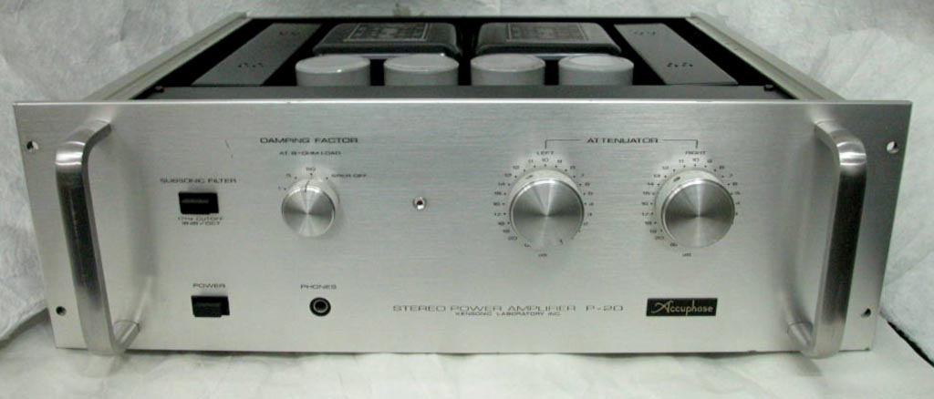 Accuphase P-20