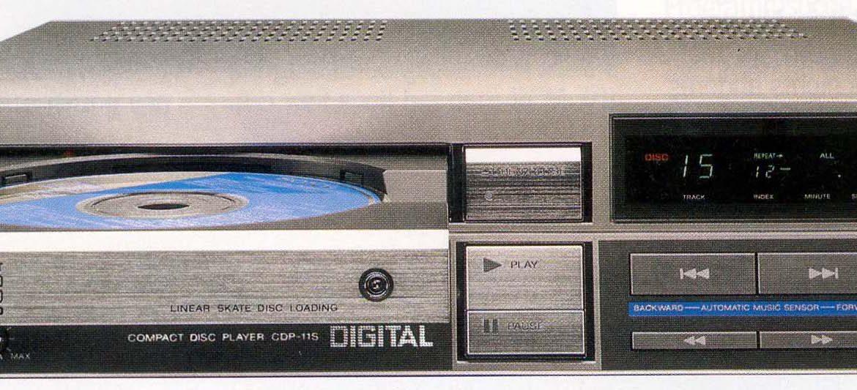 Sony CDP-11S CD Players