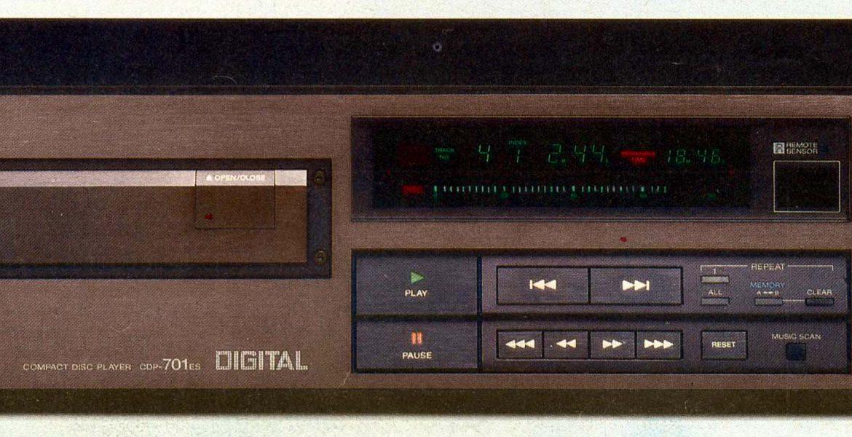 Sony CDP 701ES
