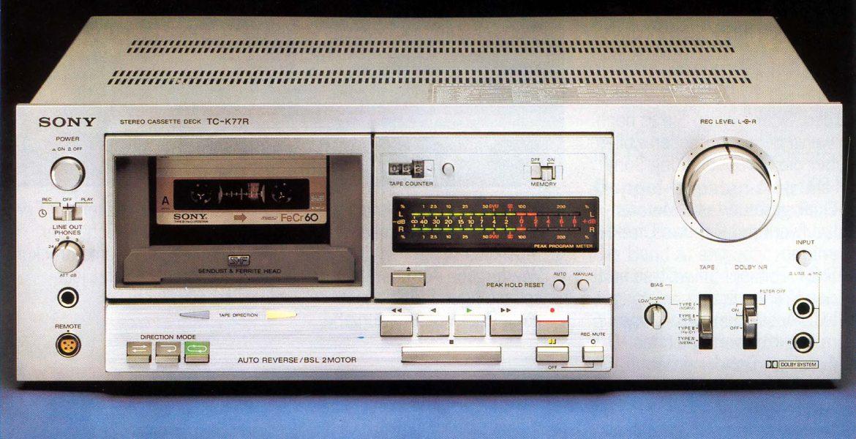 Sony TC-K77R