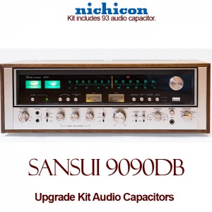 Sansui 9090DB Upgrade Kit Audio Capacitors