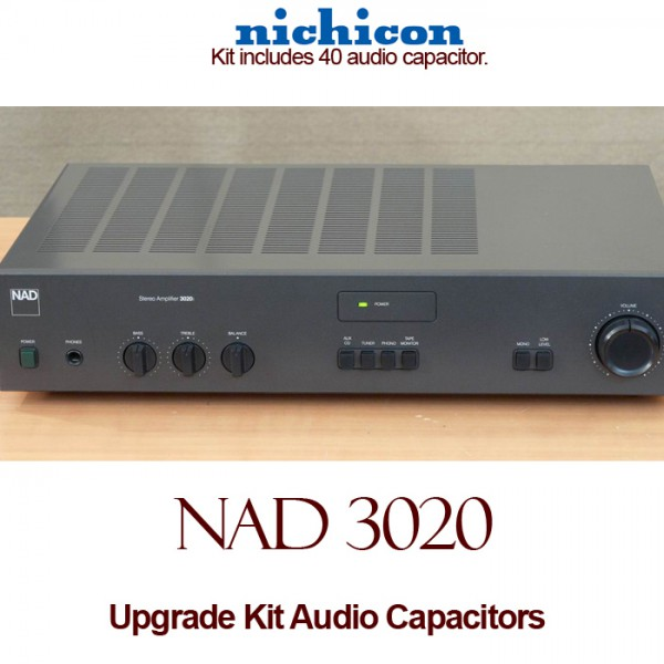 NAD 3020 Upgrade Kit Audio Capacitors