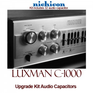 Luxman C-1000 Upgrade Kit Audio Capacitors
