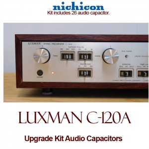 Luxman C-120A Upgrade Kit Audio Capacitors
