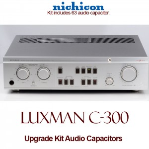 Luxman C-300 Upgrade Kit Audio Capacitors