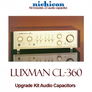 Luxman CL-360 Upgrade Kit Audio Capacitors