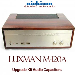 Luxman M-120A Upgrade Kit Audio Capacitors