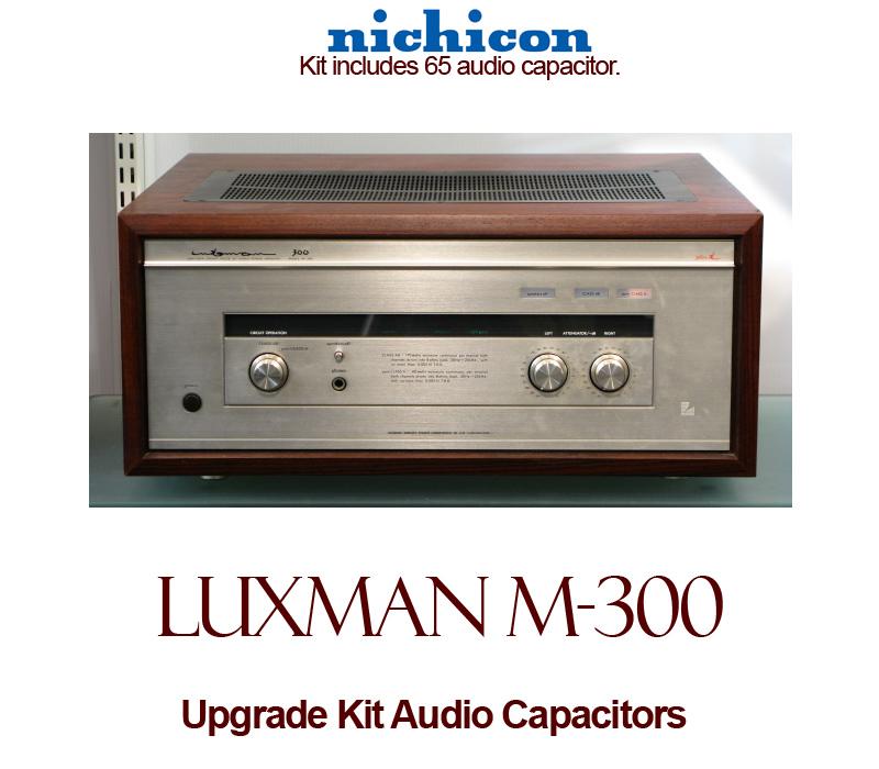 Luxman M-300 Upgrade Kit Audio Capacitors