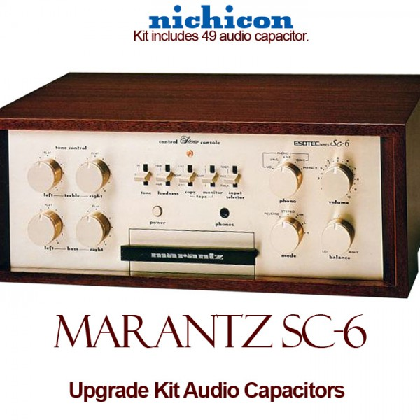 Marantz SC-6 Upgrade Kit Audio Capacitors