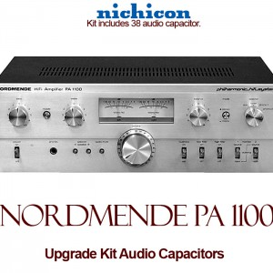 Nordmende PA 1100 Upgrade Kit Audio Capacitors