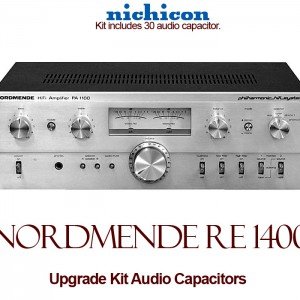 Nordmende RE 1400 Upgrade Kit Audio Capacitors