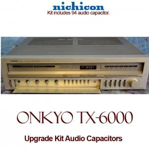 Onkyo TX-6000 Upgrade Kit Audio Capacitors