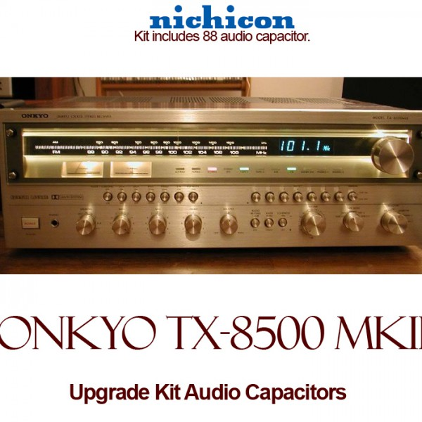 Onkyo TX-8500 MKII Upgrade Kit Audio Capacitors