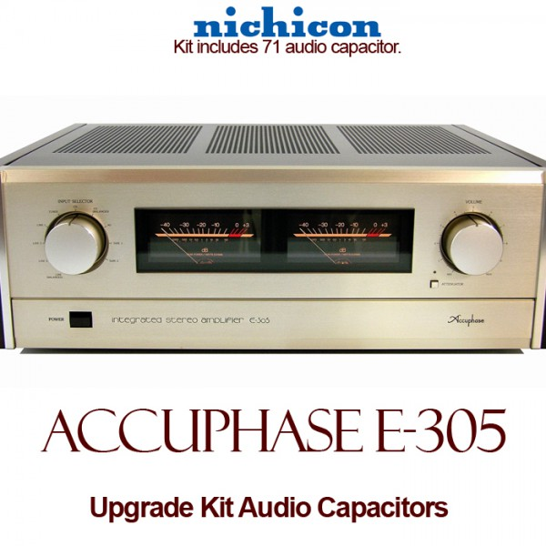Accuphase E-305 Upgrade Kit Audio Capacitors
