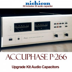 Accuphase P-266 Upgrade Kit Audio Capacitors
