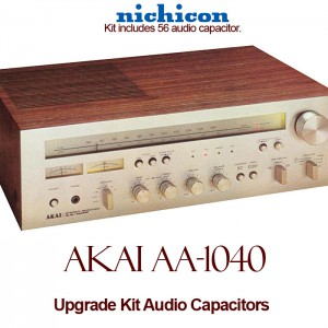 Akai AA-1040 Upgrade Kit Audio Capacitors