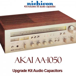 Akai AA-1050 Upgrade Kit Audio Capacitors