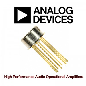 Analog Devices OP27GJZ Precision Amplifier TO-99-8