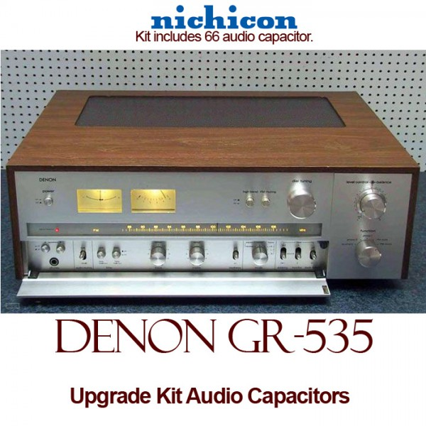 Denon GR-535 Upgrade Kit Audio Capacitors