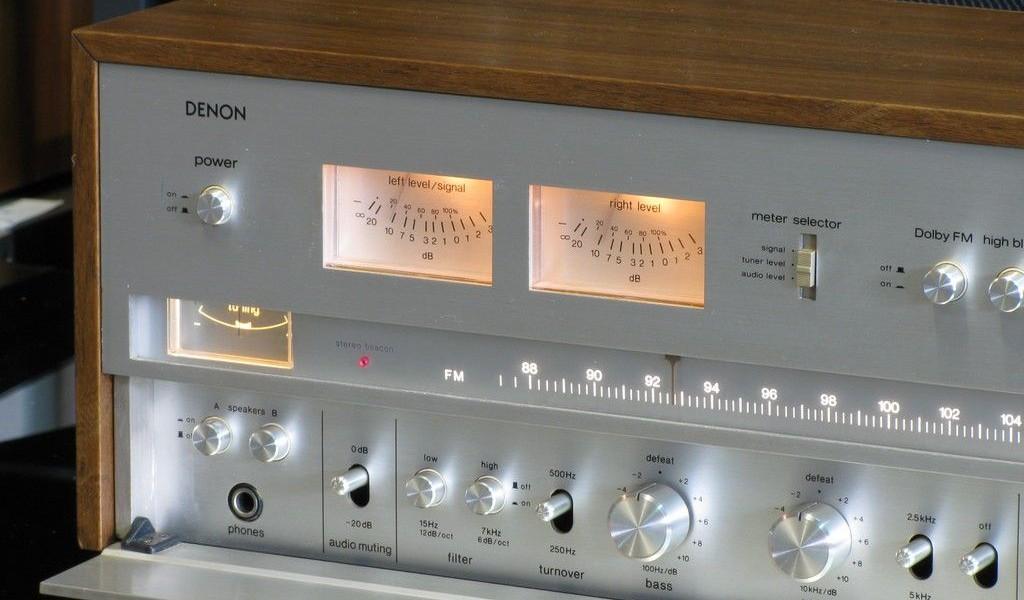 Los mejores y/o más recomendables Receivers vintage Denon-GR-555-1024x600