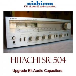 Hitachi SR-504 Upgrade Kit Audio Capacitors