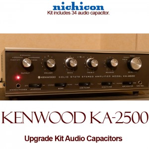 Kenwood KA-2500 Upgrade Kit Audio Capacitors