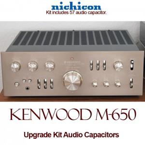 Kenwood Model 650 Upgrade Kit Audio Capacitors