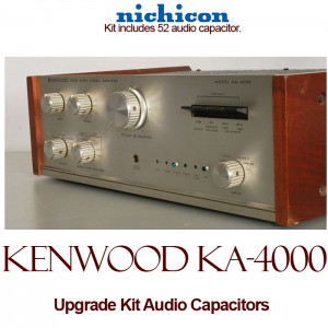 Kenwood KA-4000 Upgrade Kit Audio Capacitors