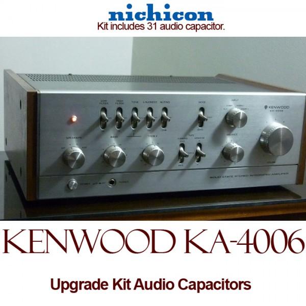 Kenwood KA-4006 Upgrade Kit Audio Capacitors