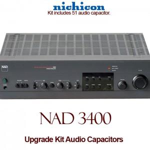 NAD 3400 Upgrade Kit Audio Capacitors